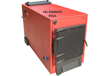 Heating boilers for biomass