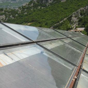 Montaža solarnih panela u Rafailovićima 2005god