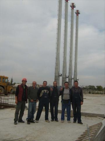 Dimnjački sistemi Toplana Sombor 2012 god
