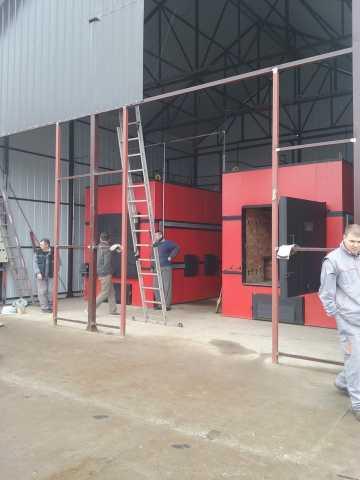 Grejanje plastenika 2x750 kw Fabrika BAG začini